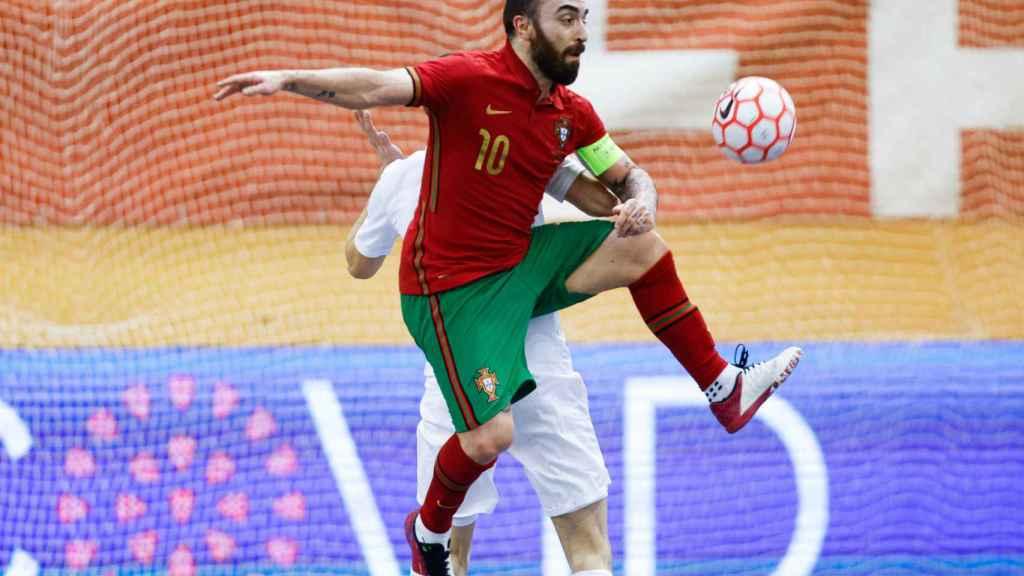 Ricardinho, con la selección de Portugal