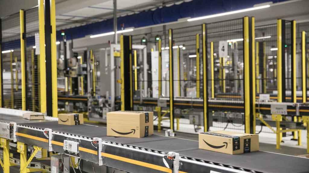 Amazon en El Prat de Llobregat.
