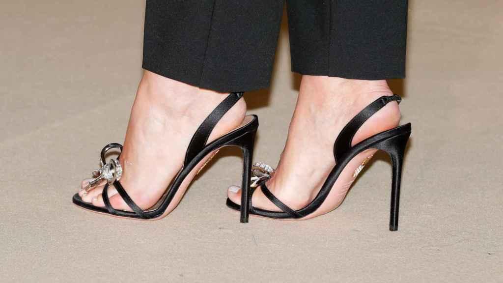 Sandalias de Aquzzurra.