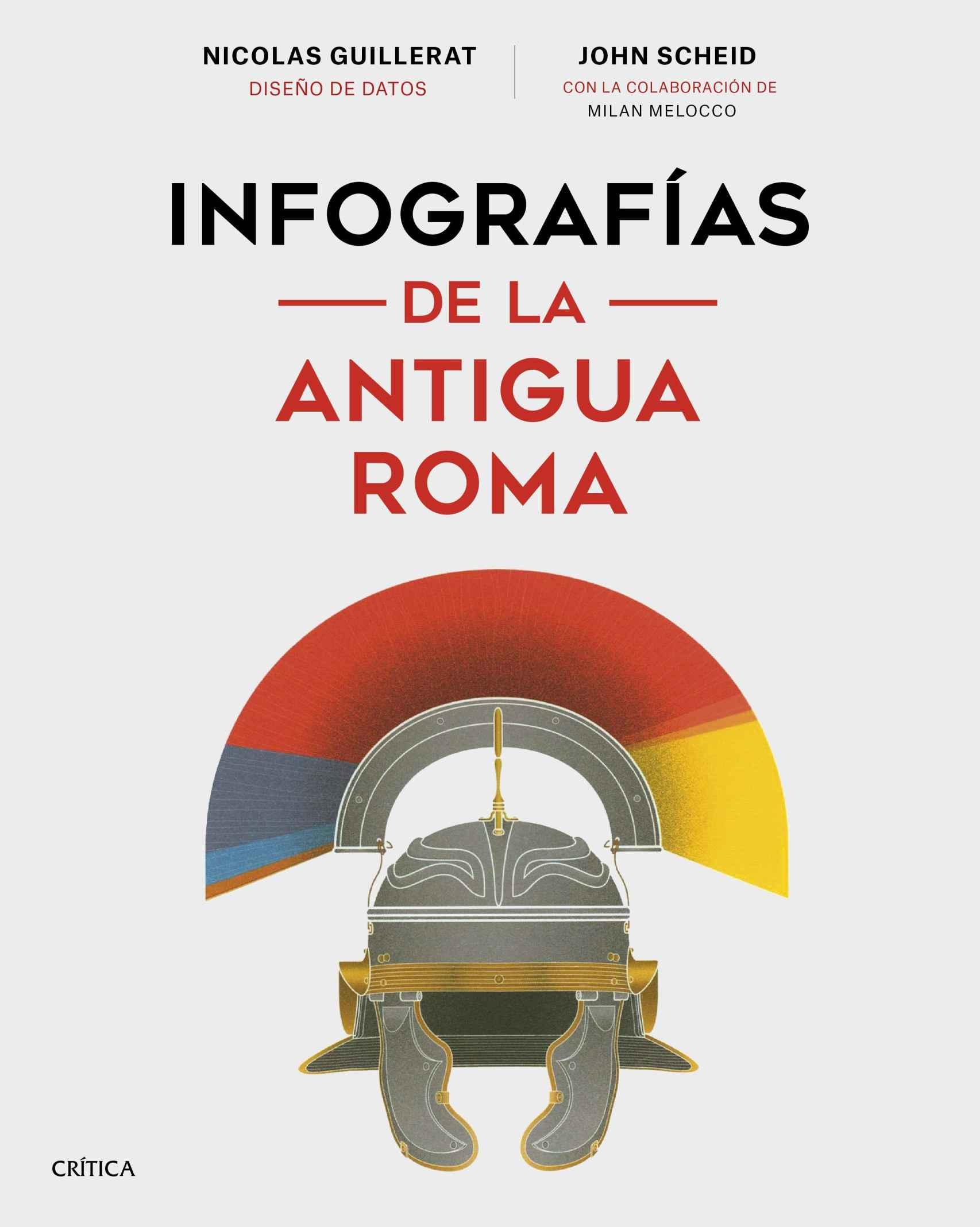 Portada de 'Infografías de la Antigua Roma'.