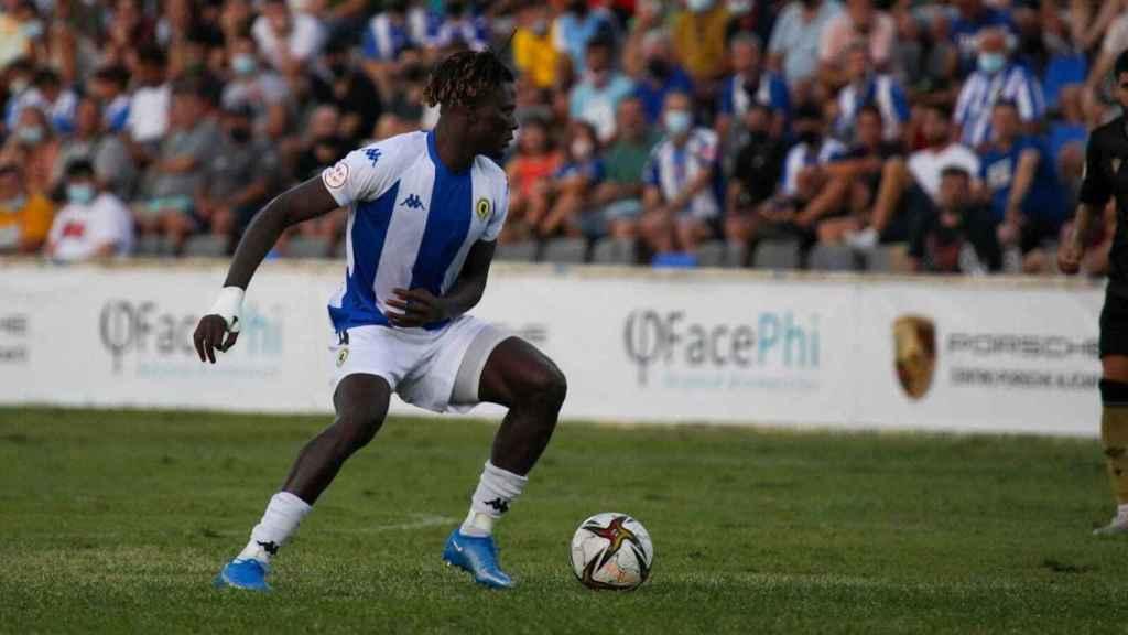 Federiko Bikoro, el jugador guineano proviene del Real Zaragoza.