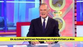 Pedro Piqueras ha repasado algunos de sus ataques de risa más recordados.