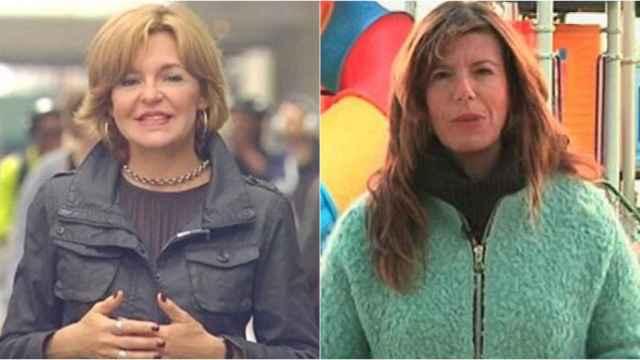 Almudena Ariza y Mavi Doñate son dos de las corresponsales que cambiarán de destino.