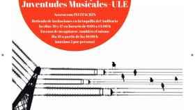 Cartel concierto archivo histórico de León