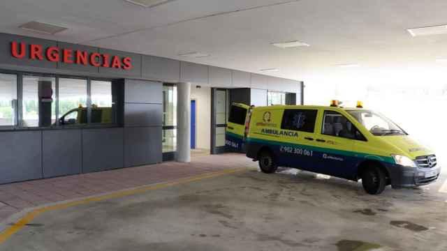 Hospital salamanca Llegada de ambulancias con pacientes