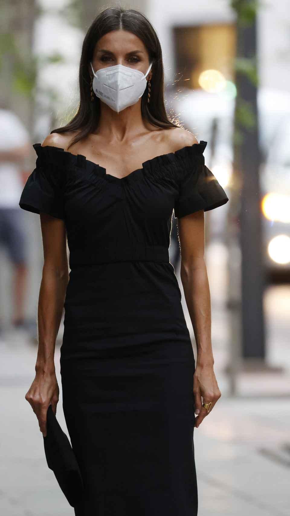 La reina Letizia, durante un acto celebrado en Madrid el pasado 6 de septiembre.