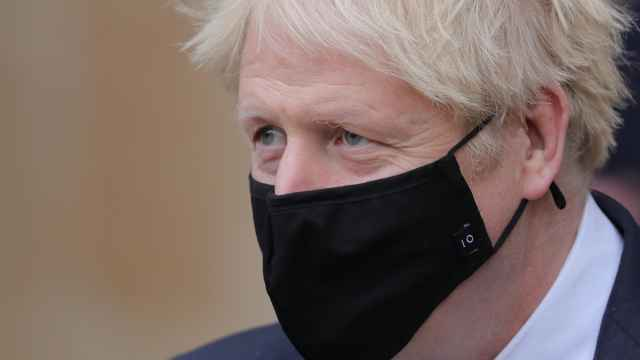 Boris Johnson, durante un acto en Londres.