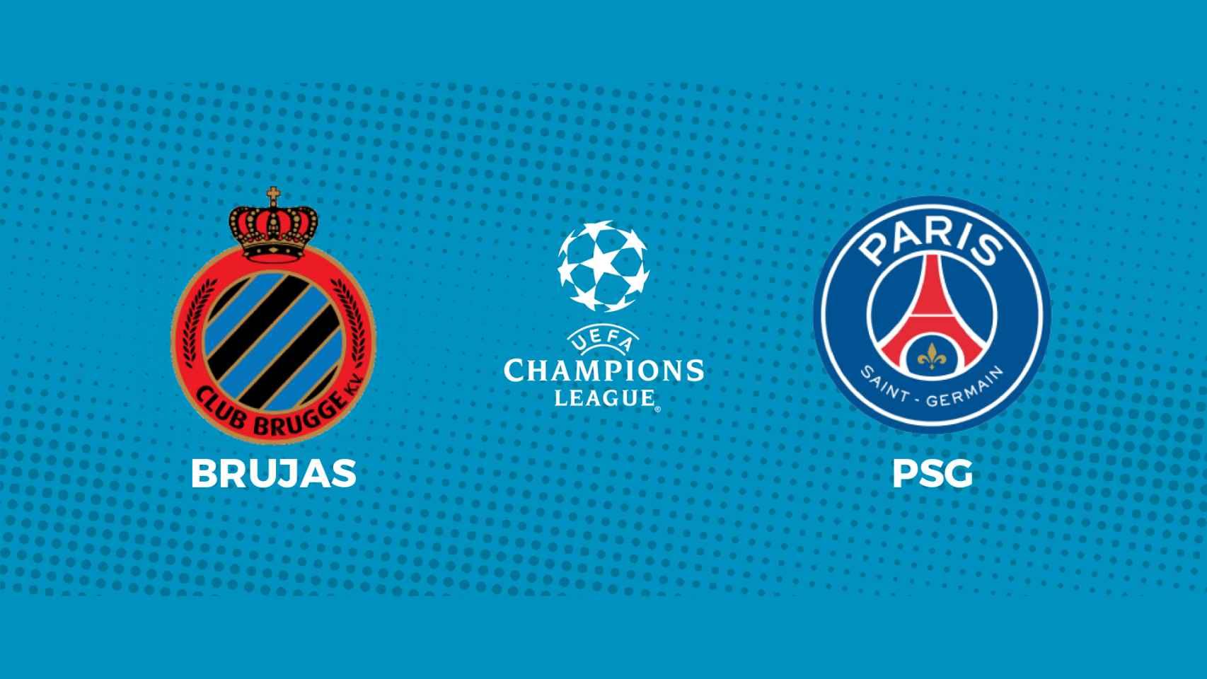Brujas - PSG: siga en directo el partido de la Champions League