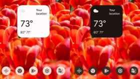 Este es el nuevo widget del tiempo del Asistente de Google