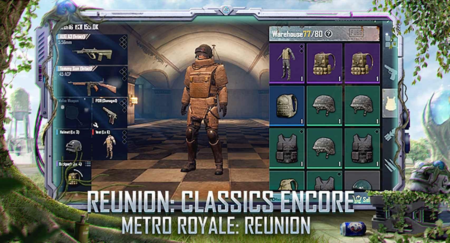 El modo Metro Royale está de vuelta en PUBG Mobile
