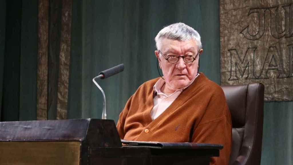 El poeta albaceteño Antonio Martínez Sarrión. Foto: Fundación March.