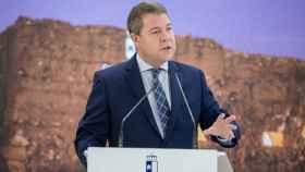 Emiliano García-Page, presidente de Castilla-La Mancha, en Seseña (Toledo)