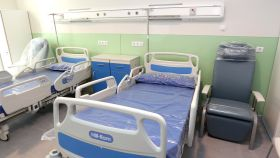 Una de las habitaciones del Hospital Universitario de Toledo.