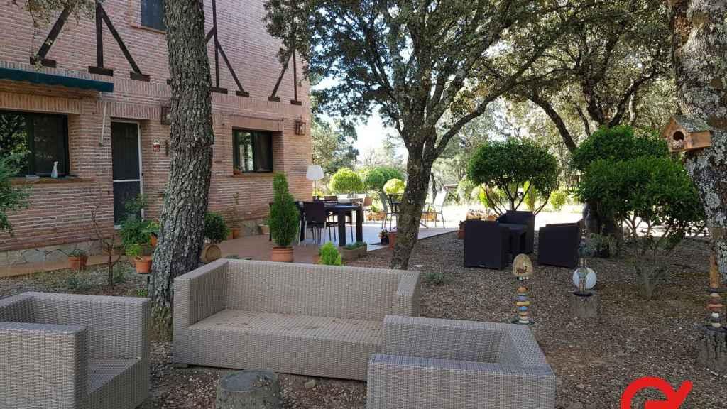 Los exteriores del hotel rural subastado a partir de un euro en Toledo.