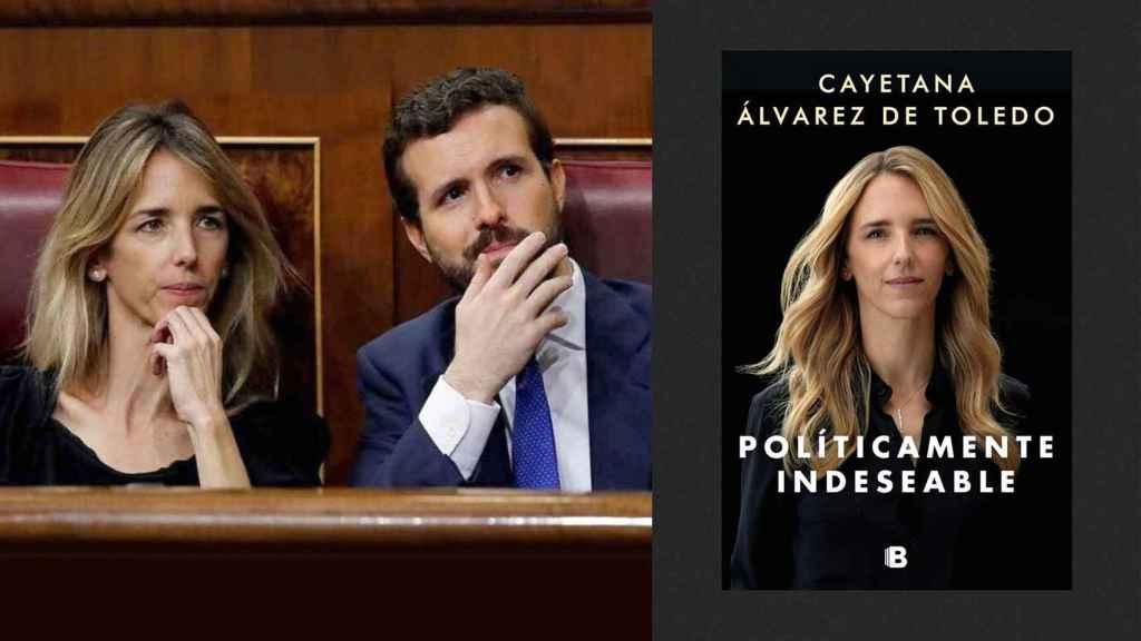 Cayetana Álvarez de Toledo y Pablo Casado, en el Congreso.