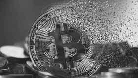 Imagen de un bitcoin.