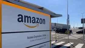Acceso a uno de los centros de Amazon.