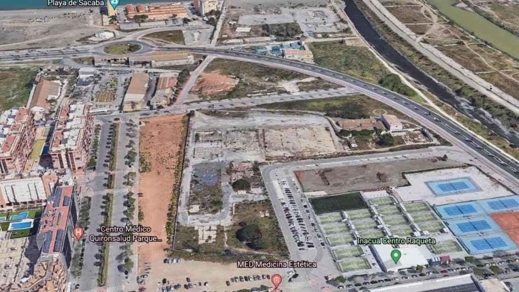 Terrenos cedidos a la Universidad Alfonso X El Sabio para la construcción de un campus privado.