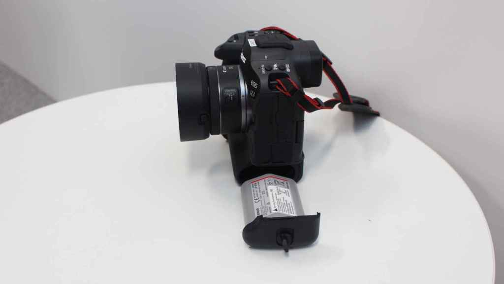 La batería de la Canon EOS R3.