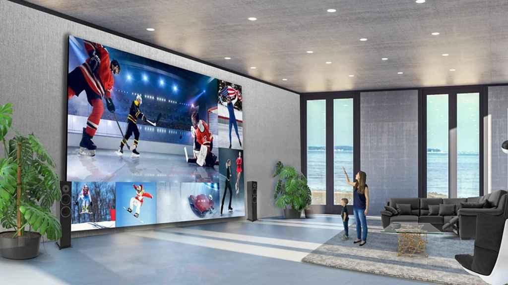 LG TV LED de hasta 325 pulgadas