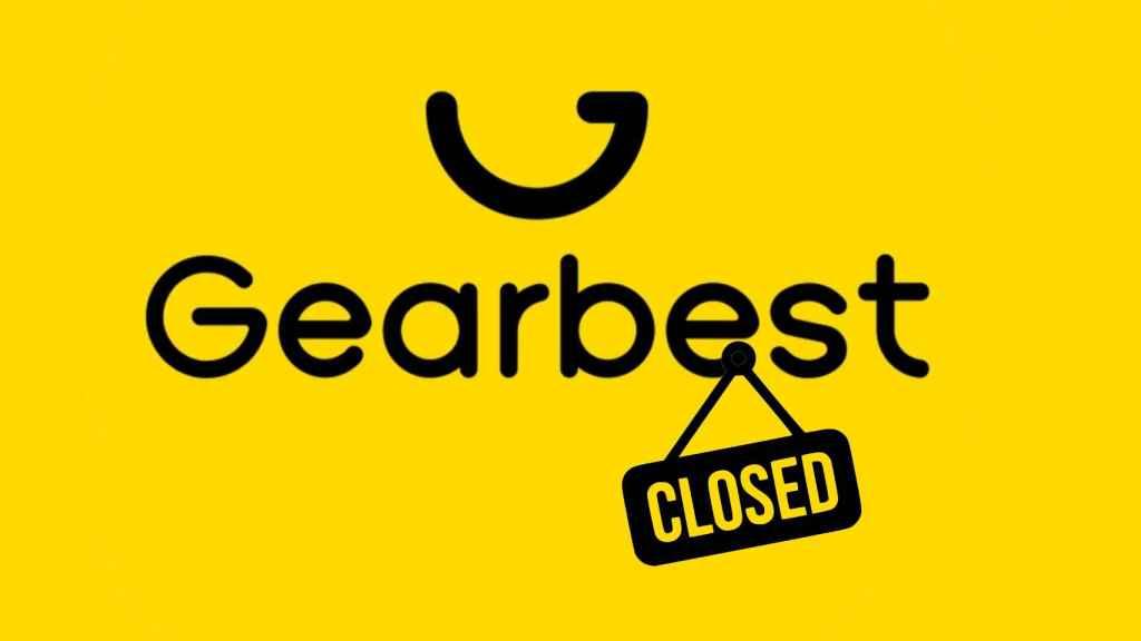 La página web de GearBest lleva varios días cerrada.