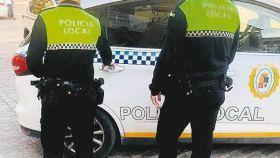 Agentes de la Policía Local de Martos, en Jaén.