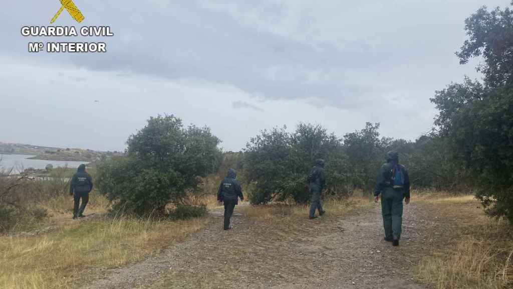 Batidas en los  alrededores del Guajaraz, en Argés (Toledo)