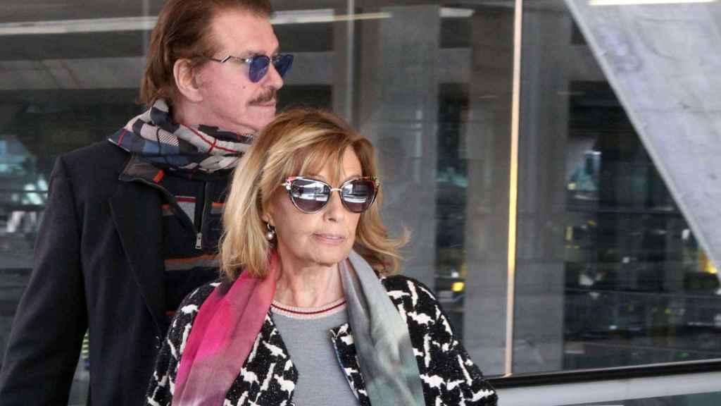 María Teresa Campos junto a Edmundo Bigote Arrocet en una imagen fechada en enero de 2017.