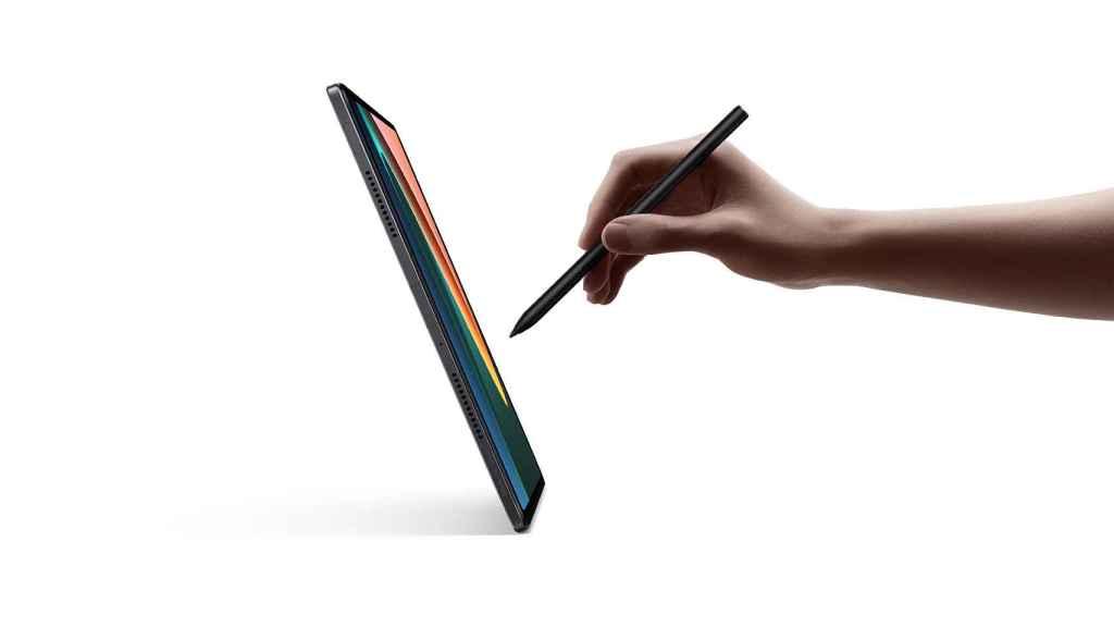 Xiaomi Pad 5 escribiendo