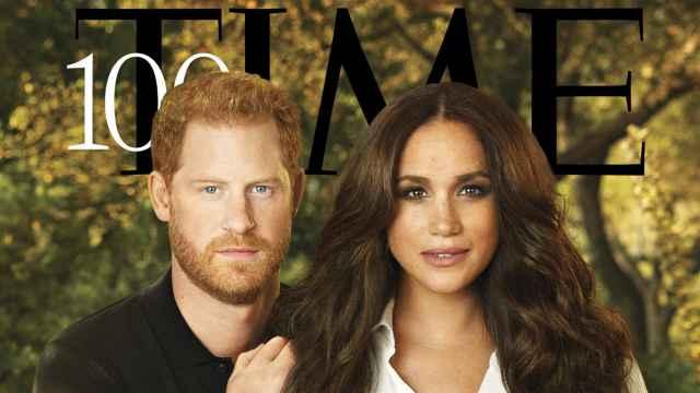 Los duques de Sussex, protagonistas de la revista 'Time'.