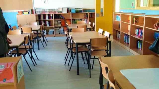 Una imagen de archivo de una clase.