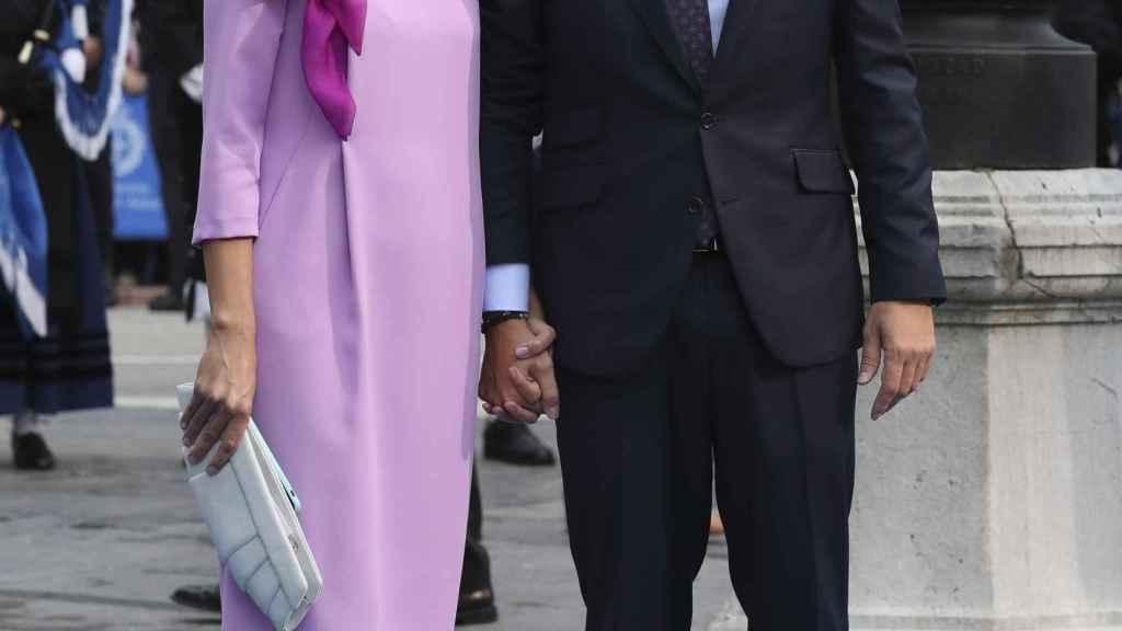 Beatriz Tajuelo y Albert Rivera en una imagen fechada en octubre de 2018.