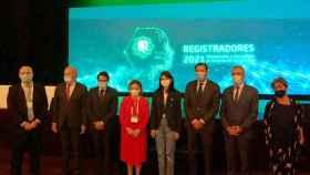 Pilar Llop participa en la inauguración del VI Congreso Nacional de Registradores valladolid