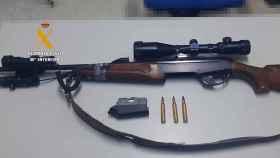 Rifle intervenido zamora