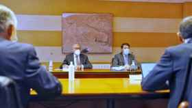 Mañueco reunion consejo rector urcacyl