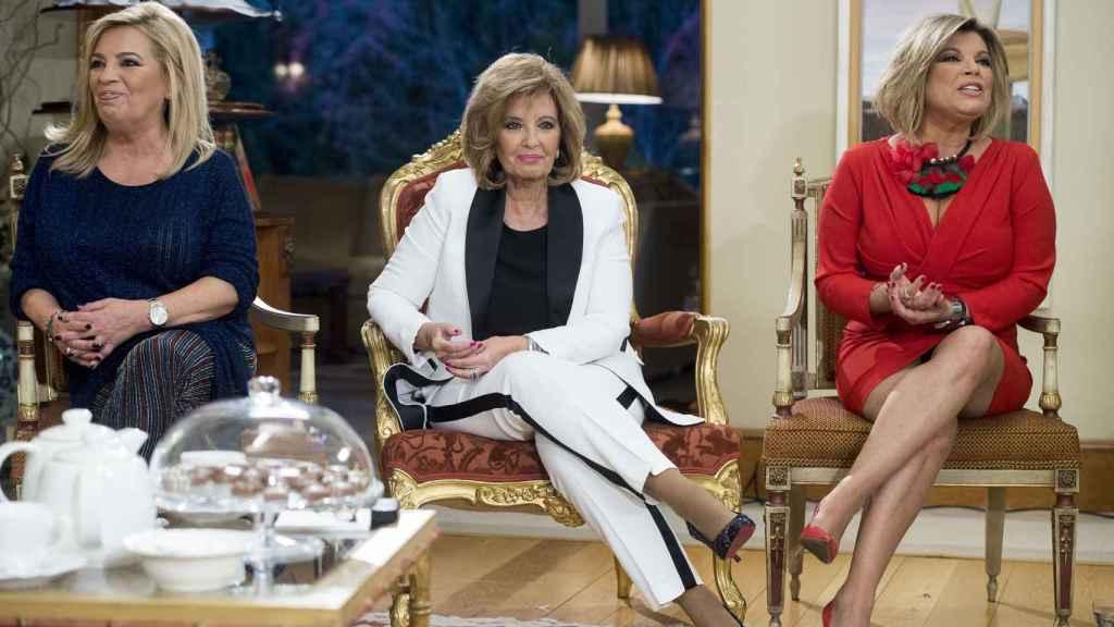 La presentadora María Teresa Campos en una imagen de archivo fechada en diciembre de 2017.