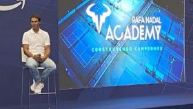 Captura del vídeo de la presentación del documental de la Rafa Nadal Academy by Movistar
