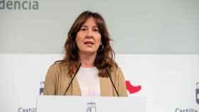 Blanca Fernández, consejera de Igualdad y portavoz del Gobierno de Castilla-La Mancha