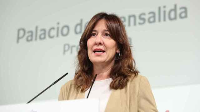 Blanca Fernández, portavoz del Gobierno de Castilla-La Mancha (Ó. HUERTAS)