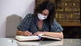 La presidenta de la Comunidad de Madrid, Isabel Díaz Ayuso, ha presentado este miércoles la ley de autonomía financiera.