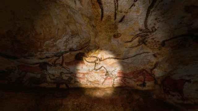 Una de las obras descubiertas en las cuevas de Lascaux y que ahora se replican en un gemelo digital.