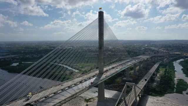 Puente Pumarejo, en Colombia, construido por Sacyr.
