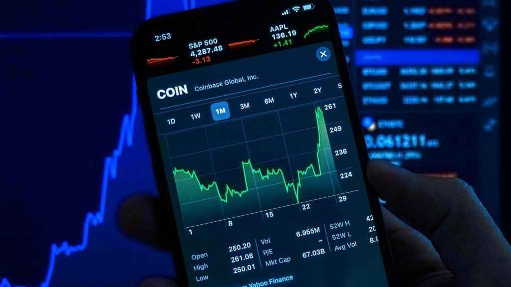 Una plataforma de inversión móvil.