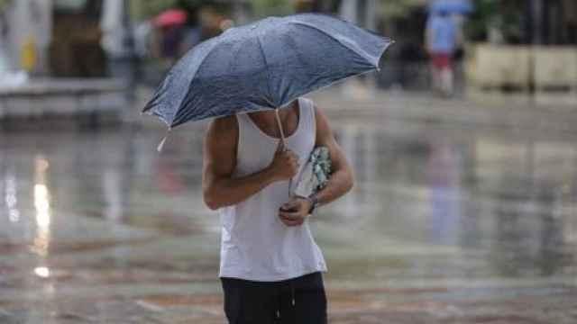Una imagen de archivo de la lluvia.