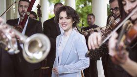 Marzena Diakun, la directora titular de la Orquesta y Coro de la Comunidad de Madrid esta temporada.