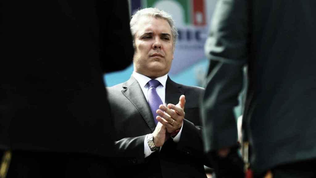 El presidente colombiano, Iván Duque.