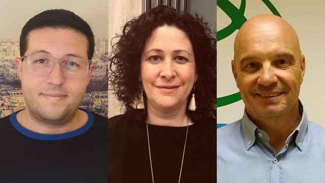 Gregorio, Juan y Carmen, tres profesores de Educación Secundaria.