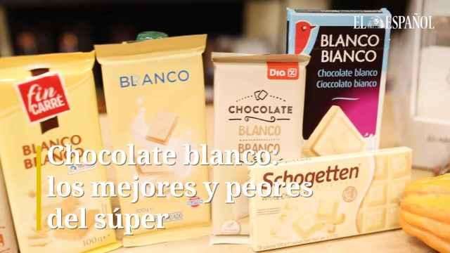 Chocolate blanco: los mejores y peores del súper