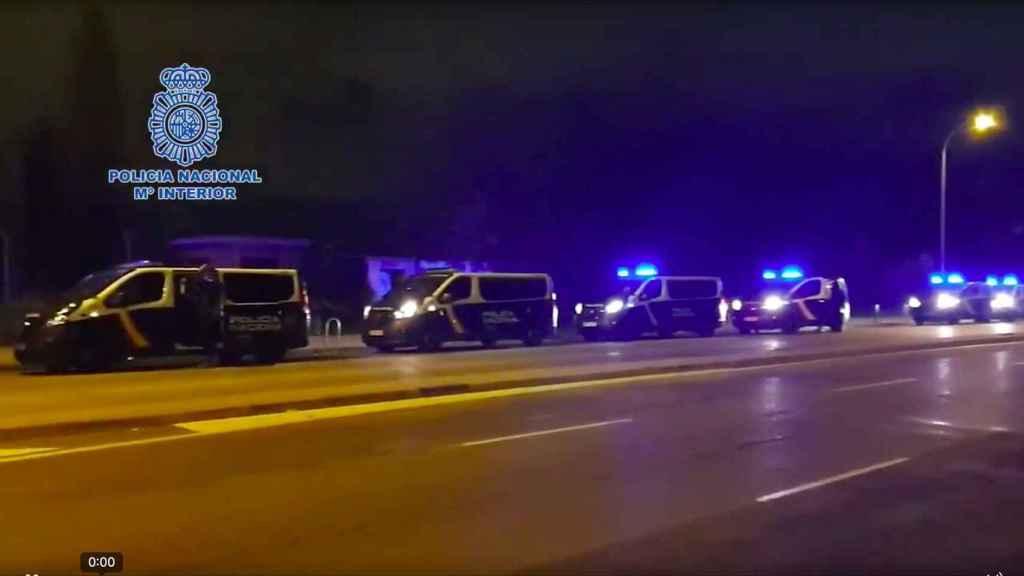 Detención de los agentes de estupefacientes de Mérida.