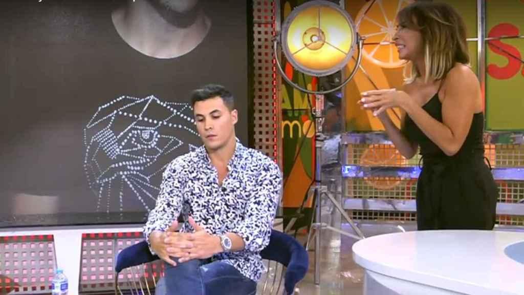 "María Patiño a Kiko Jiménez en 'Sálvame': ""Lo único que sabes es posar en Instagram desnudo"""